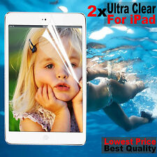 2x New HD Clear Screen Protector Film Guard For iPad 4 3 Air 2 Mini 3 2 Pro 9.7