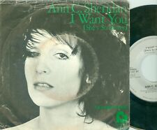 "ANN C. SHERIDAN - I WANT YOU ( BEATLES COVER!) RARE DUTCH 7""PS  1976"