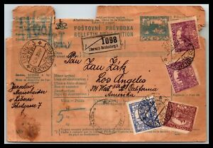 GP GOLDPATH: CZECHOSLOVAKIA PARCEL RECEIPT 1920 _CV572_P23