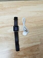 Apple Watch Series 3 42mm Space Gray Aluminium Case with Leather Band (GPS)