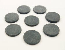 Masaje De Piedras Calientes: conjunto de 8 Redondo Basalto Piedras 4 X 0,65 cm