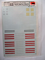 Microscale Decals HO Seaboard Air Line Switchers #87-152