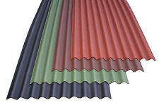 Bitumen Corrugated Roofing Sheets | 2000x950 | Black | Single