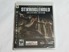 NEW (Read) John Woo Presents Stranglehold Collector's Edition Playstation 3 PS3