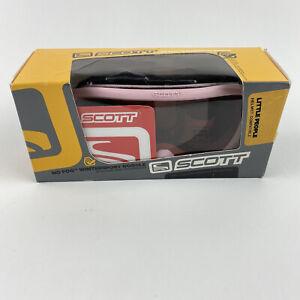 SCOTT Little People Junior Youth Kids Ski Goggles Pink Anti Fog w/ Box UVA/UVB