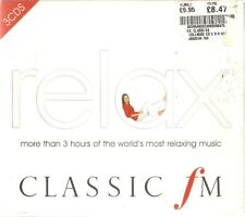 Various - Classic FM - Relax (3xCD Boxset 2007) 38 Tracks