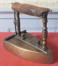 fer a repasser systeme lingot art populaire antique flat iron