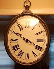 THE MAGICIANS TV SERIES PROP- Black Hanging Clock From The Magicians Clock Lot.