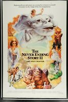 THE NEVERENDING STORY II 2 27x41 Original RARE Rolled Movie Poster 1990 FANTASY