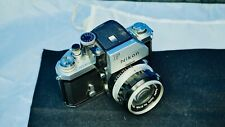 NIKON F PHOTOMIC 35MM PRO W/ 50MM F1.4 S NIKKOR EX- L@@K