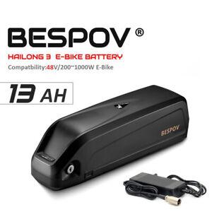 48V 1000W 13Ah Hailong E-Bike Li-ion Lithium Battery Electric Bicycles 2A USB