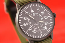 Vintage Russian WW2 WAR style airforce PILOT's watch LACO Pobeda 2602 NOS BLACK