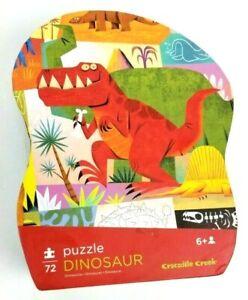 Crocodile Creek Dinosaur 72 Piece Puzzle