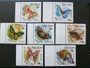 Vietnam 1991 – PHILANIPPON '91 / Butterflies -  VF, MNH .