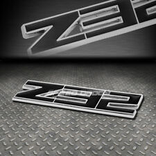 FOR 300ZX/FAIRLADY Z32 METAL BUMPER TRUNK GRILL EMBLEM DECAL STICKER BADGE BLACK