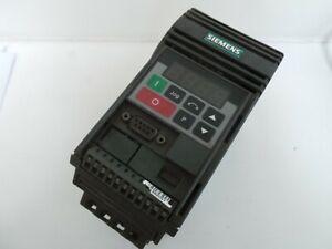 SIEMENS 6SE9213-6BA40 MICROMASTER MM75 0.75KW INVERTER 1PH 220V - MISSING COVER