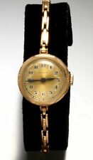 Ladies Swiss Watch w/Expansion Watch Band Hand Wind Vintage Watch from the 1940s