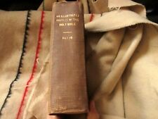 1872 Illustrated History of the Bible John Kitto Original Vintage Book family