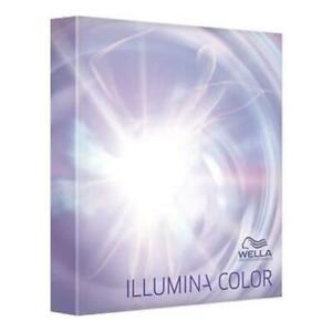 Wella Illumina Shade Chart Colour Guide Book FREE P&P