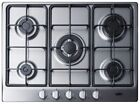 SUMMIT 27'' W 5-Burner Gas Cooktop w/ Continuous Grates & Wok Ring, GC527SS, NEW photo