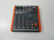DJ PA 4 Kanal Mixer Mischpult Verstärker Party Mobil Ibiza Stereo USB MP3 Player