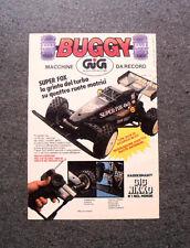 I192-Advertising Pubblicità-1988- BUGGY SUPER FOX RADIOCOMANDATO , GIG