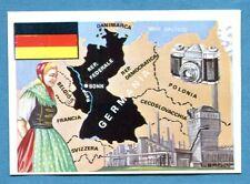 LA TERRA - Panini 1966 - Figurina-Sticker n. 153 - GERMANIA OCCIDENTALE -Rec
