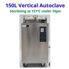 Sh Scientific 150l Vertical Autoclave Pressurized Steam Sterilizer 12115psi