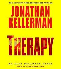 THERAPY by Jonathan Kellerman (abridged audio cds) cds in excellent condition