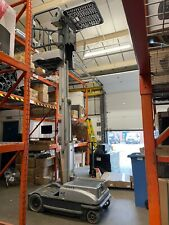 More details for jlg order picker man up machine for warehouse picking battery