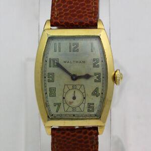 "Vintage Waltham ""RUBY"" 17 Jewel Manual 14K Gold Filled Wristwatch ca.1928"