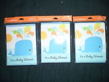 Hallmark Baby Shower Cards 3-Packs of 10 cards each New