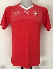 SWITZERLAND 2017/18 S/S HOME SHIRT BY PUMA SIZE MEN'S LARGE BRAND NEW WITH TAGS