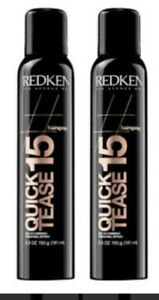 Redken Quick Tease 15 Backcombing Finishing Spray 5.3 oz  (2 pack)  $14.49 EA