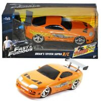 Jada Toys Fast and Furious 7.5 Inch RC Toyota Brian Supra Ages 5+ Toy Play Race