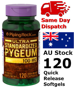 Pygeum Ultra 100mg 120Cap Prostate Improves Kidney Urinary Function Best Deal