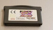 Super Street Fighter II 2 Turbo Revival Nintendo Gameboy Advance Game Cartridge