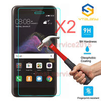 2Pcs 9H+ Premium Tempered Glass Film Screen Protector For Huawei P8 Lite 2017