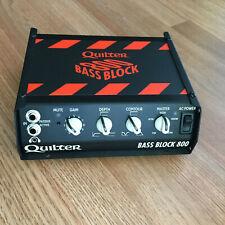 Quilter Bass Block 800 Bass Amp Head 800W w/ case