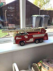 Tonka Fire Engine 1970s VINTAGE TONKA Toy AERIAL UNIT2 LADDER FIRE ENGINE No.