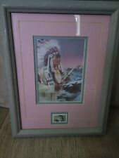 cheyenne Indian picture and stamp