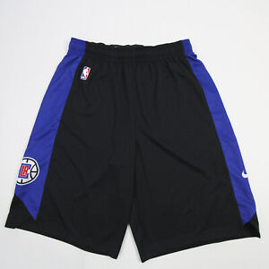 Los Angeles Clippers Nike Dri-Fit Athletic Shorts Men's Black/Blue Used