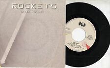 ROCKETS  raro disco 45 giri MADE in ITALY + PS  UNDER THE SUN 1984