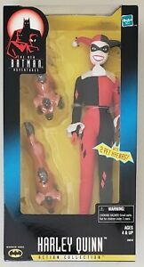 NEW BATMAN ADVENTURES ACTION COLLECTION HARLEY QUINN FIGURE WITH 2 PET HYENAS