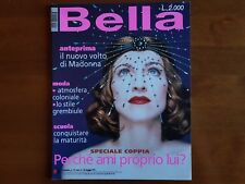 MADONNA COMPLETE MAGAZINE BELLA 1999 NEW MINT *MAX FACTOR*