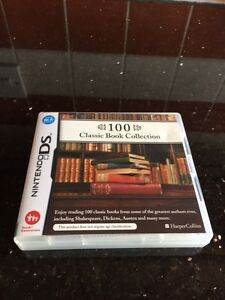 NEW NINTENDO DS LITE GAME - 100 Classic Book Collection