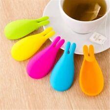 Tea Strainer Tea Filter Silicone Rabbit Tea Infuser Bag Holder Tea Diffuser Tool