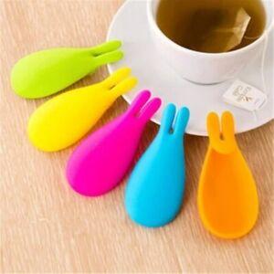 Tea Strainer Silicone Rabbit Tea Infuser Tea Filter Bag Holder Tea Diffuser Tool