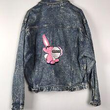 Vintage Energizer Bunny Denim Jacket Size XL