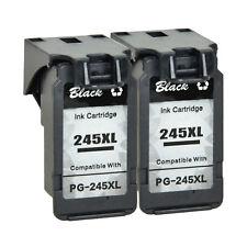 2 PK PG245XL Black Ink Cartridge for Canon PIXMA MX490 492 iP2820 MG2920 MG2922